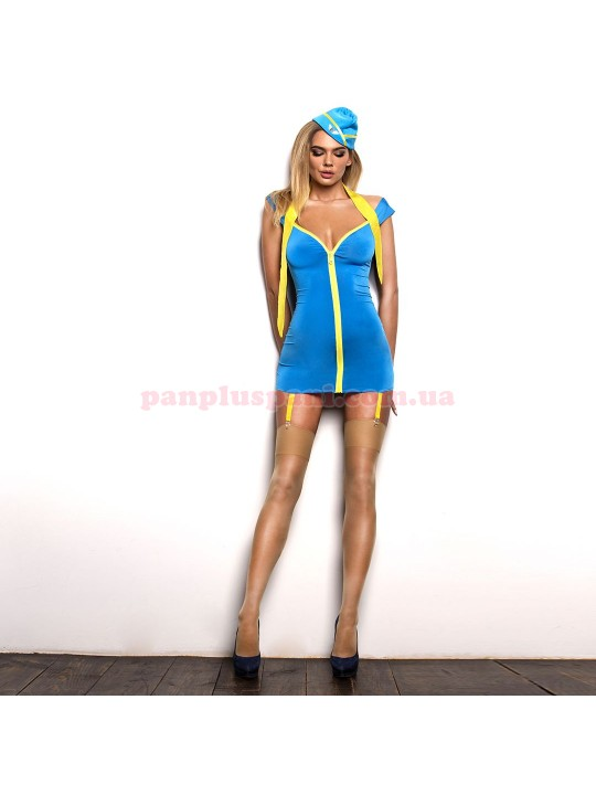 """Эротический костюм стюардессы """"Обворожительная Мерилин"""" XS/S"""
