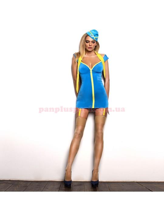 Эротический костюм стюардессы Обворожительная Мерилин М
