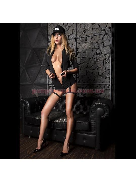 Эротический костюм полицейской Строптивая Паулина XS/S