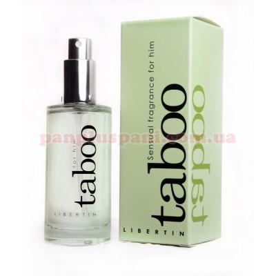 Духи с феромонами для мужчин Taboo Libertin 50 мл