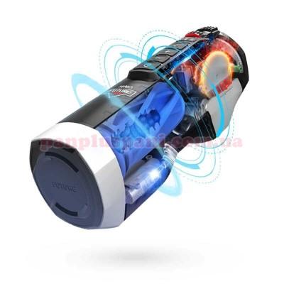 Секс-машина Leten Future Pro з голосовим супроводом, регулюванням стискання, підігрівом та розповсюдженням жіночого парфуму