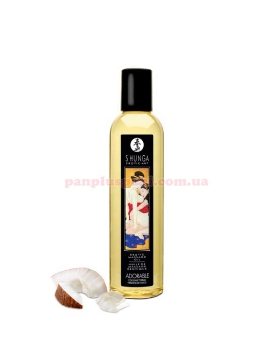 Масажна олія Shunga Adorable Coconut Thrills 250 мл