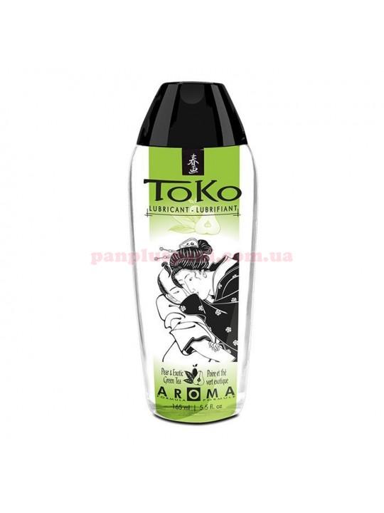 Лубрикант Shunga Toko Aroma Pear & Exotic Green Tea съедобный на водной основе 165 мл