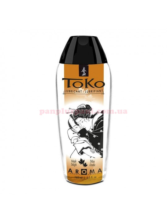Лубрикант Shunga Toko Aroma Maple Delight съедобный на водной основе 165 мл