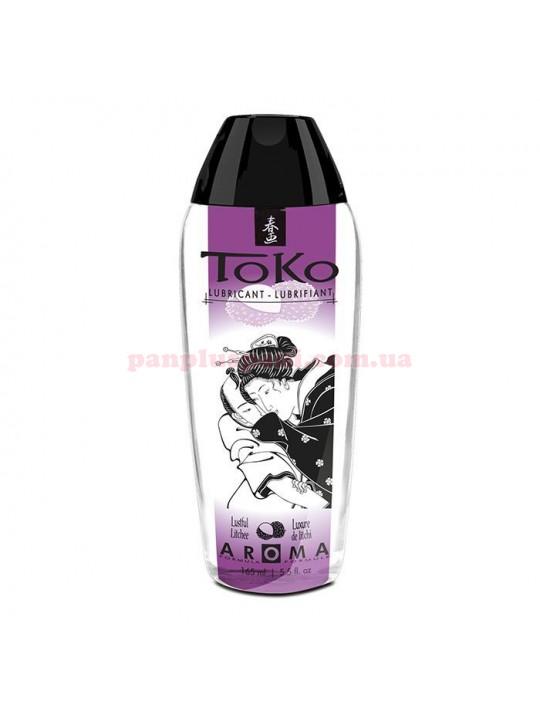 Лубрикант Shunga Toko Aroma Lustful Litchee съедобный на водной основе 165 мл