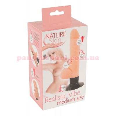 Вибратор Nature Skin Realistic Vibe M