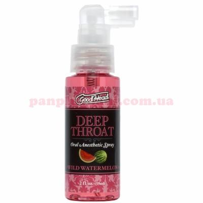 Спрей для минета Doc Johnson GoodHead Deep Throat Spray Watermelon 59 мл