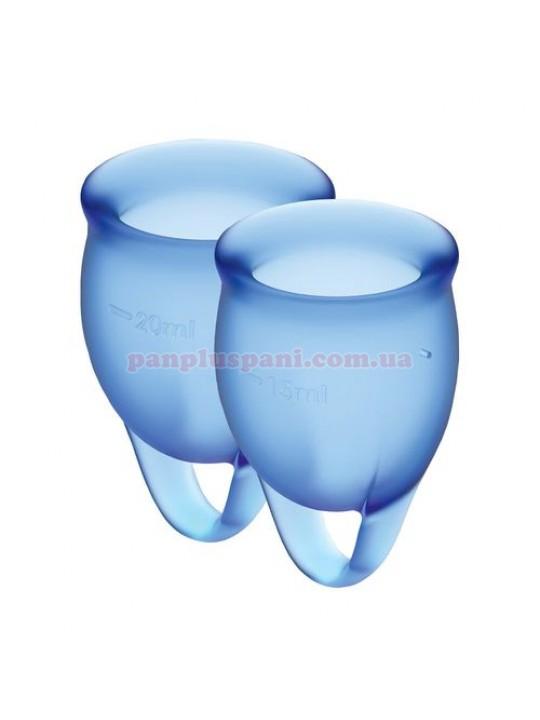Набор менструальных чаш Satisfyer Feel Confident Dark Blue