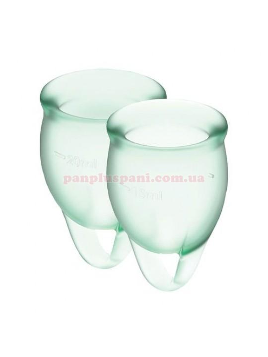 Набор менструальных чаш Satisfyer Feel Confident Light Green