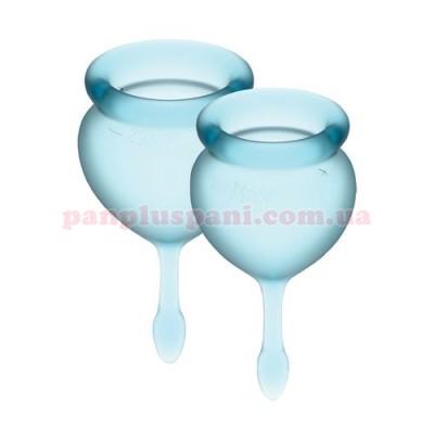 Набор менструальных чаш Satisfyer Feel Good Light Blue