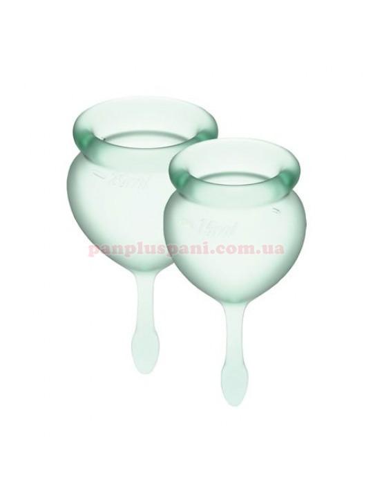 Набор менструальных чаш Satisfyer Feel Good Light Green