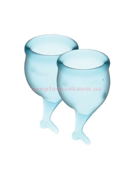 Набор менструальных чаш Satisfyer Feel Secure Light Blue