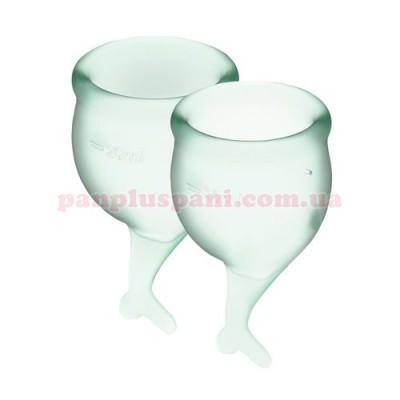 Набор менструальных чаш Satisfyer Feel Secure Light Green