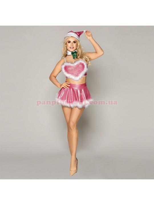 Эротический костюм Блестящая Шелли новогодний
