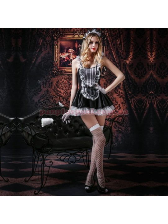 Эротический костюм горничной Трудолюбивая Дженна