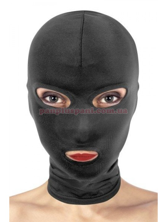 Маска Fetish Tentation Open Mouth and Eyes Hood