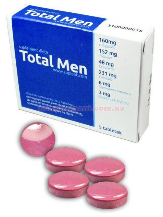 Таблетки Total Men