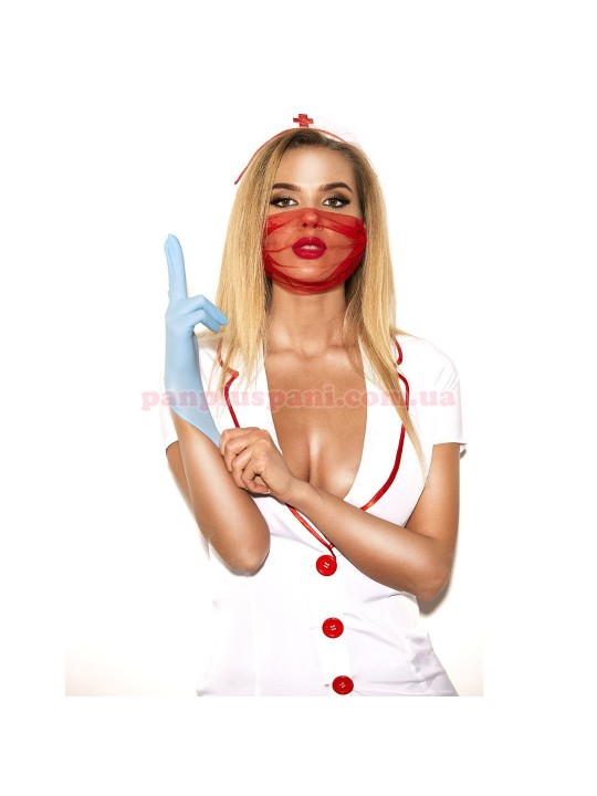 Эротический костюм медсестры Исполнительная Луиза L