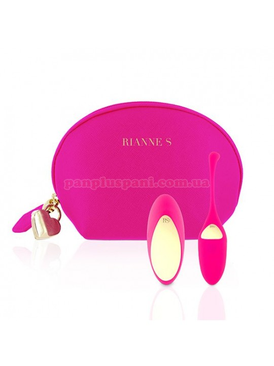 Віброяйце Rianne S Pulsy Playball Pink з вібруючим пультом д/у