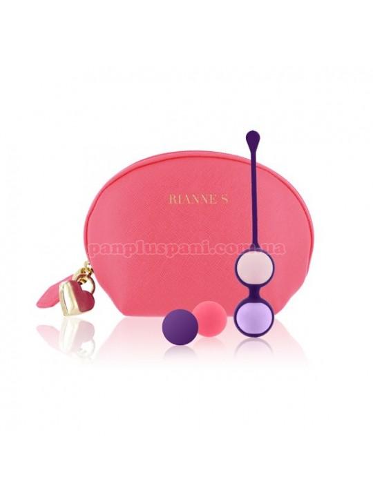 Вагінальні кульки Rianne S Pussy Playballs Coral Rose