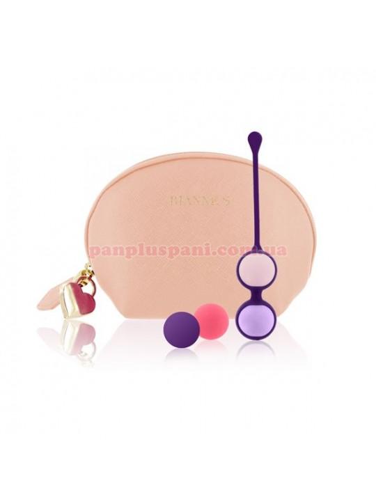 Вагінальні кульки Rianne S Pussy Playballs Nude