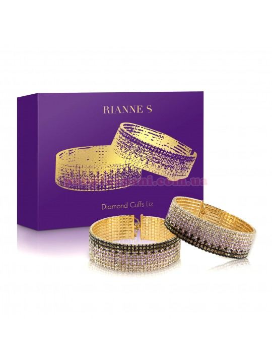 Наручники с кристаллами RIANNE S Diamond Cuffs