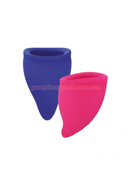 Набір менструальних чаш Fun Factory Fun Cup (розміри A і B - 2 шт)