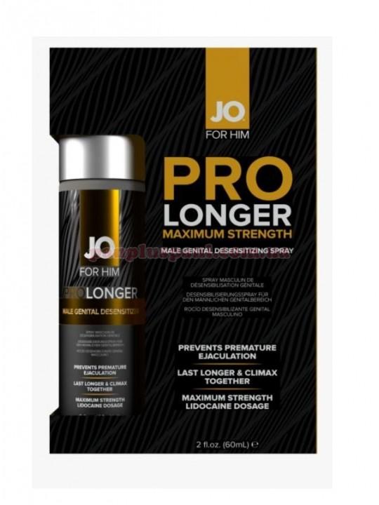 Пролонгуючий спрей System JO Prolonger Spray з лідокаїном 60 мл