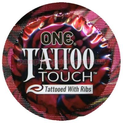 Презерватив One Tattoo Touch