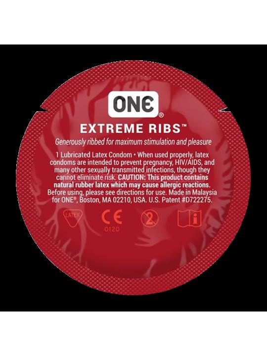 Презерватив One Extreme Ribs
