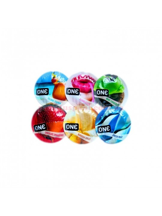 Презерватив One FlavorWaves
