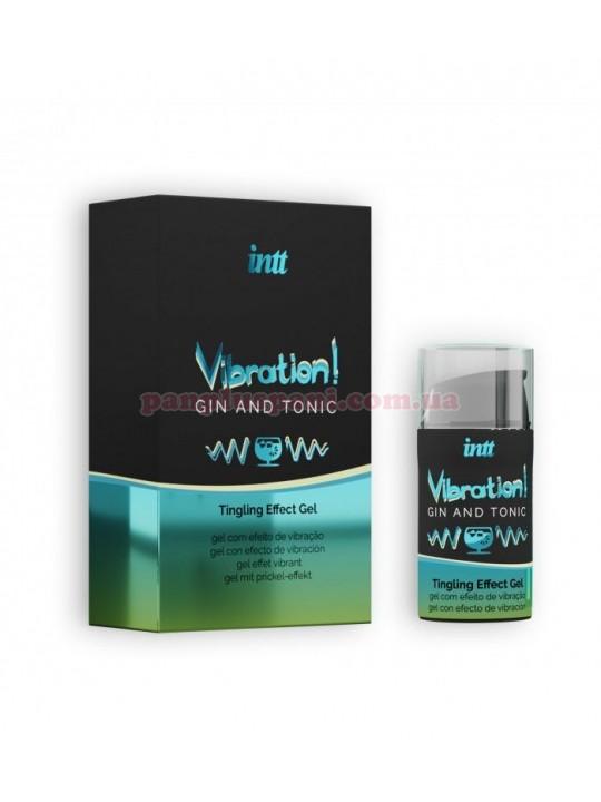 Рідкий вібратор Intt Vibration Gin Tonic 15 мл