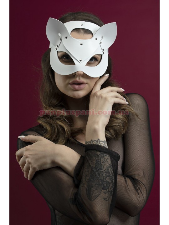 Маска кішки Feral Feelings Catwoman Mask біла