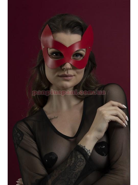 Маска кішки Feral Feelings Kitten Mask червона