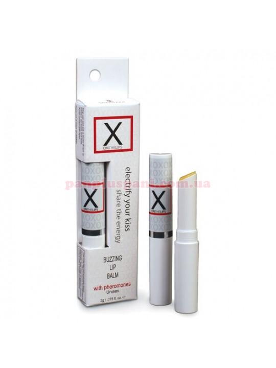 Бальзам для губ Sensuva-X on the Lips Original с феромонами стимулюючий 2 г