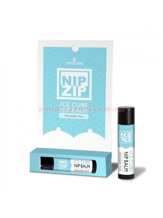 Бальзам для стимуляції сосків Sensuva Nip Zip Chocolate Mint 4 г