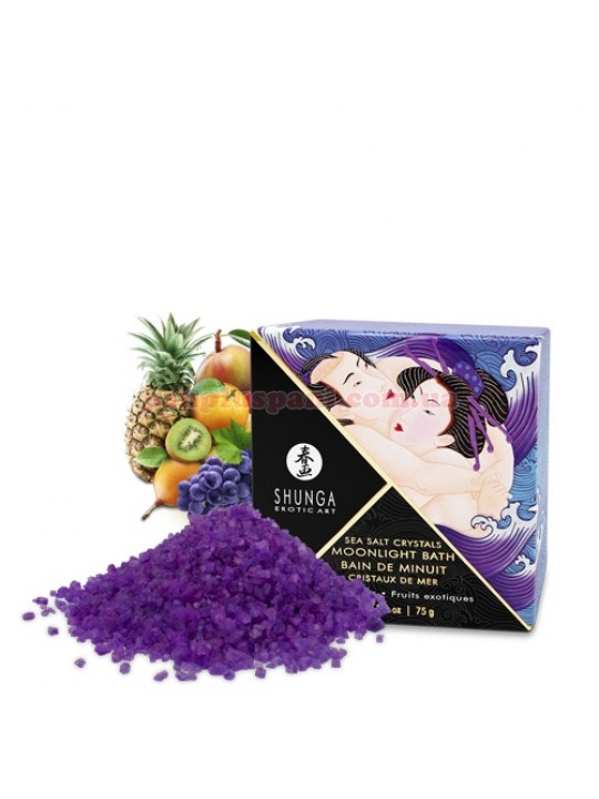 Сіль для ванни Shunga Moonlight Bath Exotic Fruits 75 г