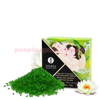 Сіль для ванни Shunga Moonlight Bath Lotus Flower 75 г