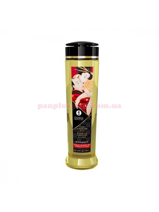 Масажна олія Shunga Romance Sparkling Strawberry Wine 240 мл