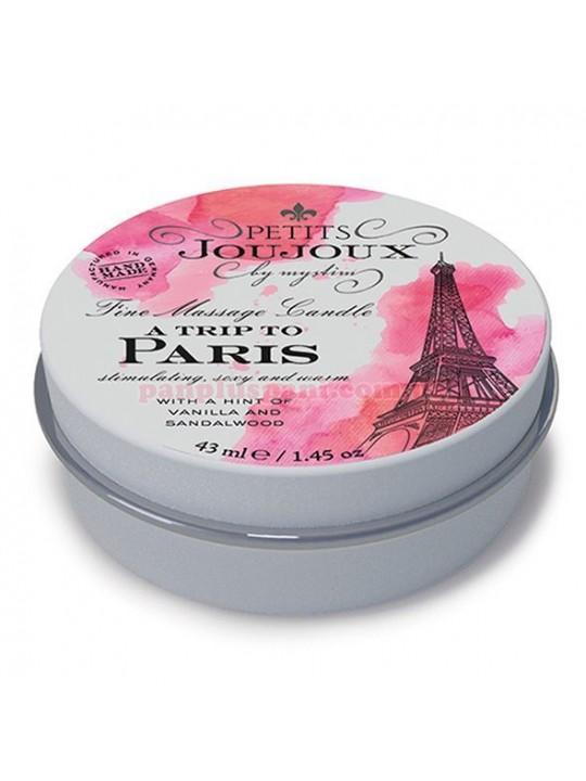 Масажна свічка Petits Joujoux - Paris - Vanilla and Sandalwood 43 мл
