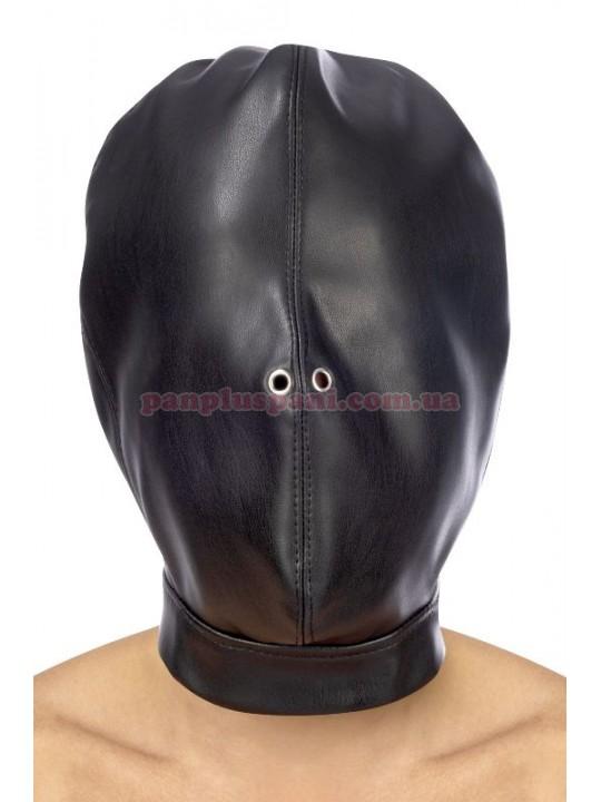 Маска Fetish Tentation Closed BDSM Hood in leatherette