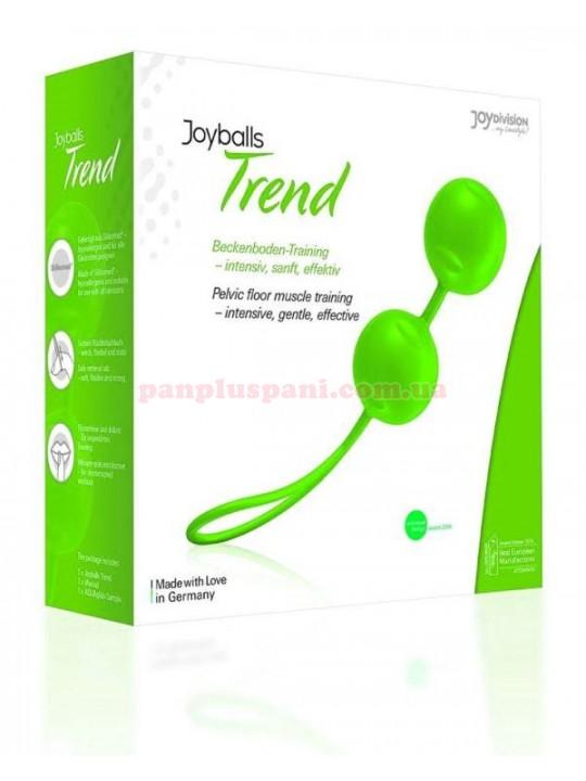 Вагінальні кульки Joyballs Trend green, вага 83 г