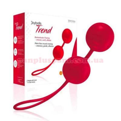 Вагінальні кульки Joyballs Trend red, вага 83 г