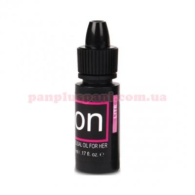 Збуджуючі краплі для клітора Sensuva ON Arousal Oil for Her Lite 5 мл