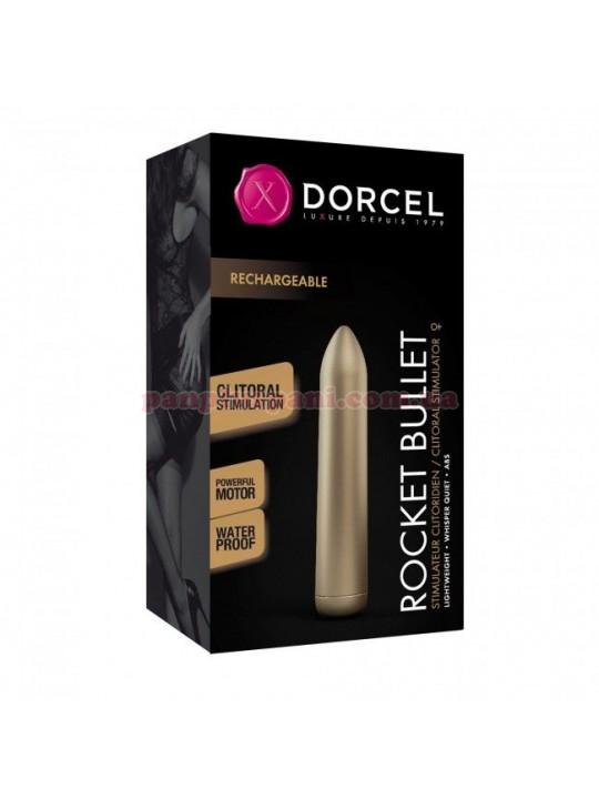 Вібратор Dorcel Rocket Bullet Gold