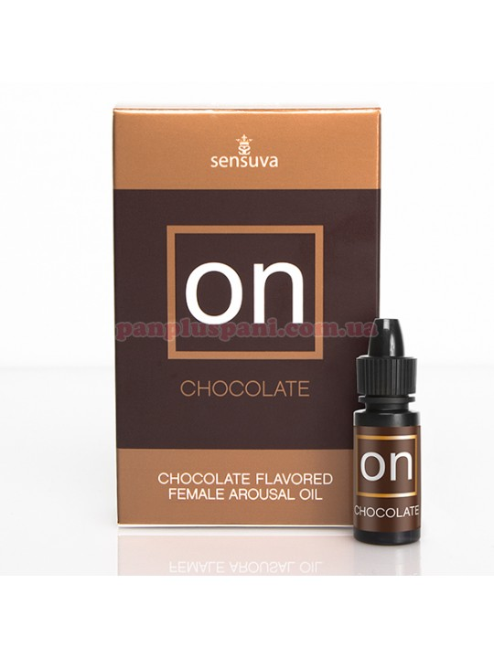Збуджуючі краплі для клітора Sensuva ON Arousal Oil for Her Chocolate 5 мл