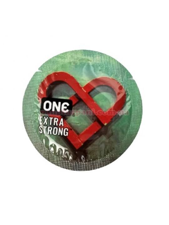Презерватив One Extra Strong