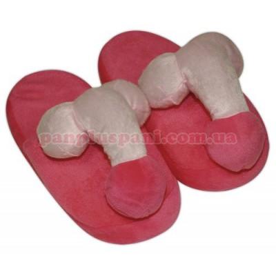 Тапочки с пенисами Penis Pink